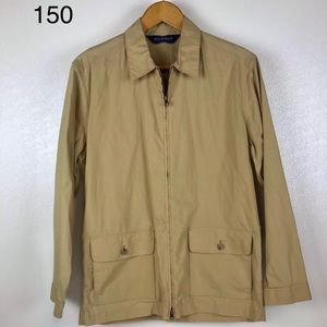 Polo Golf Tan Lightweight Jacket Men's Size M
